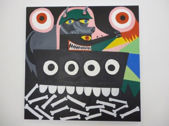 'Dogs Of War, 150cm x 150cm, 2012