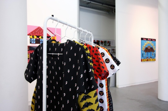 Installation image, Coco!Nuts! exhibition, Transmission Gallery, Glasgow, photography by Matthew Arthur Williams (2018)